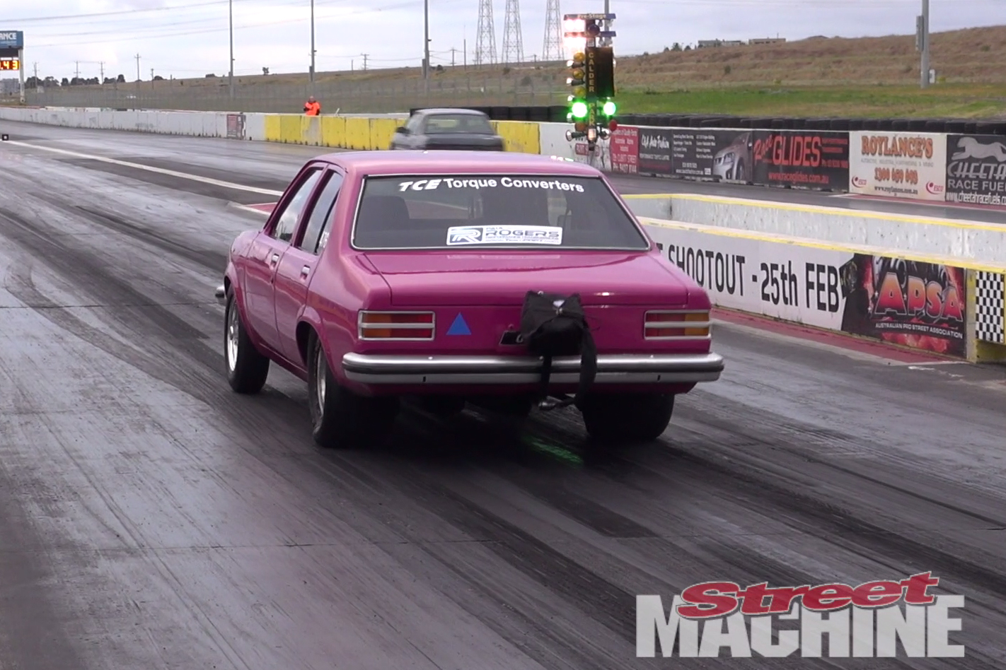 DRAG CHALLENGE CARS AND MORE AT CALDER PARK VIDEO Street Machine - Cool cars quentin