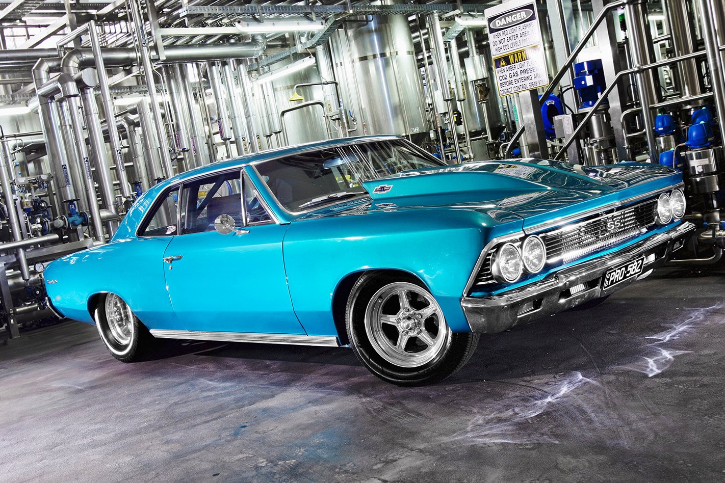 TWIN-TURBO 1966 CHEVROLET CHEVELLE SS