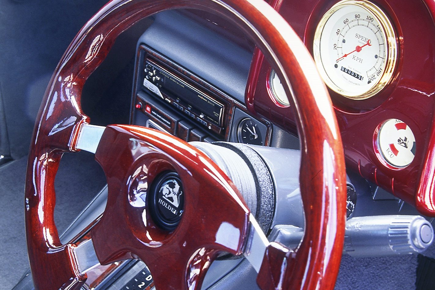 Holden FX steering wheel