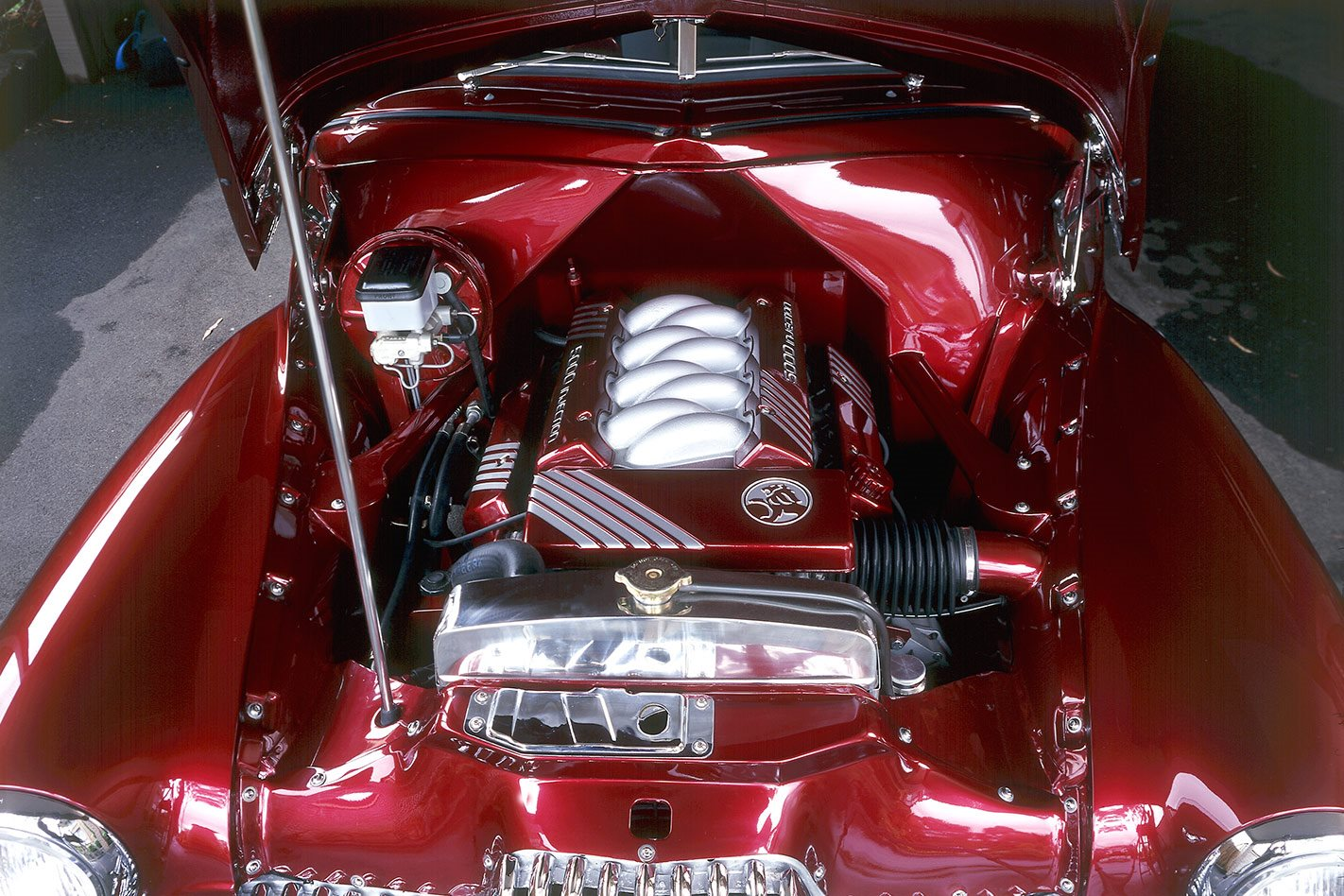 Holden FX engine bay