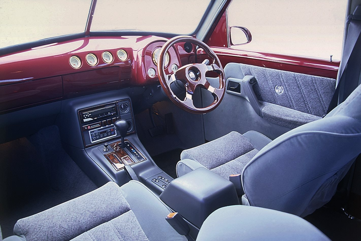 Holden FX interior