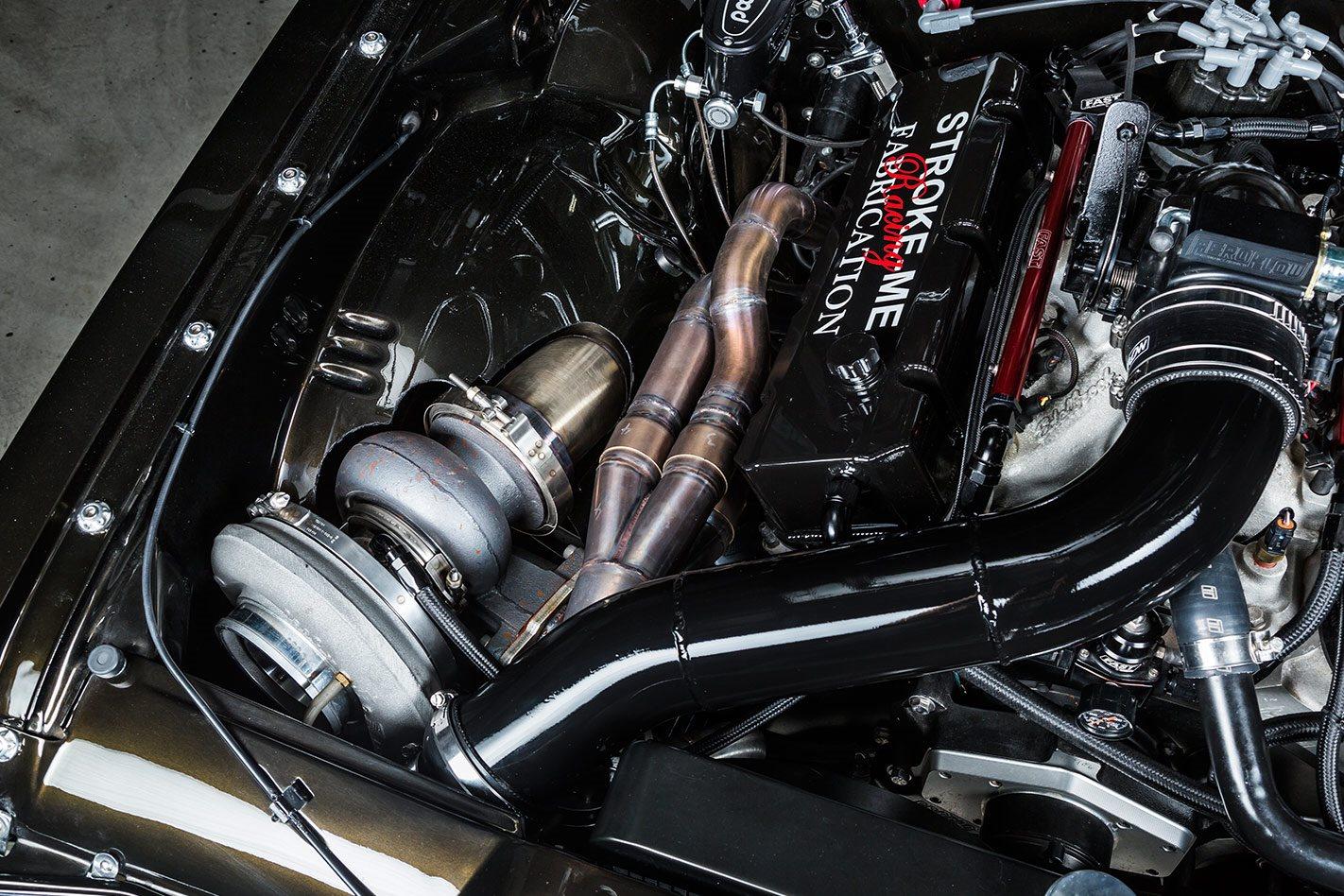Holden HK Monaro engine