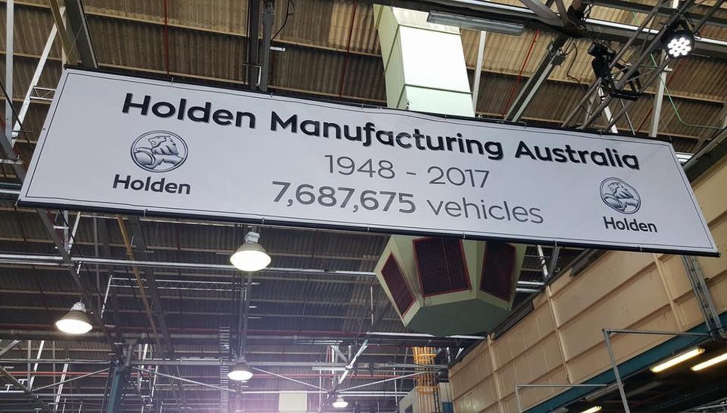 Australian made Holdens