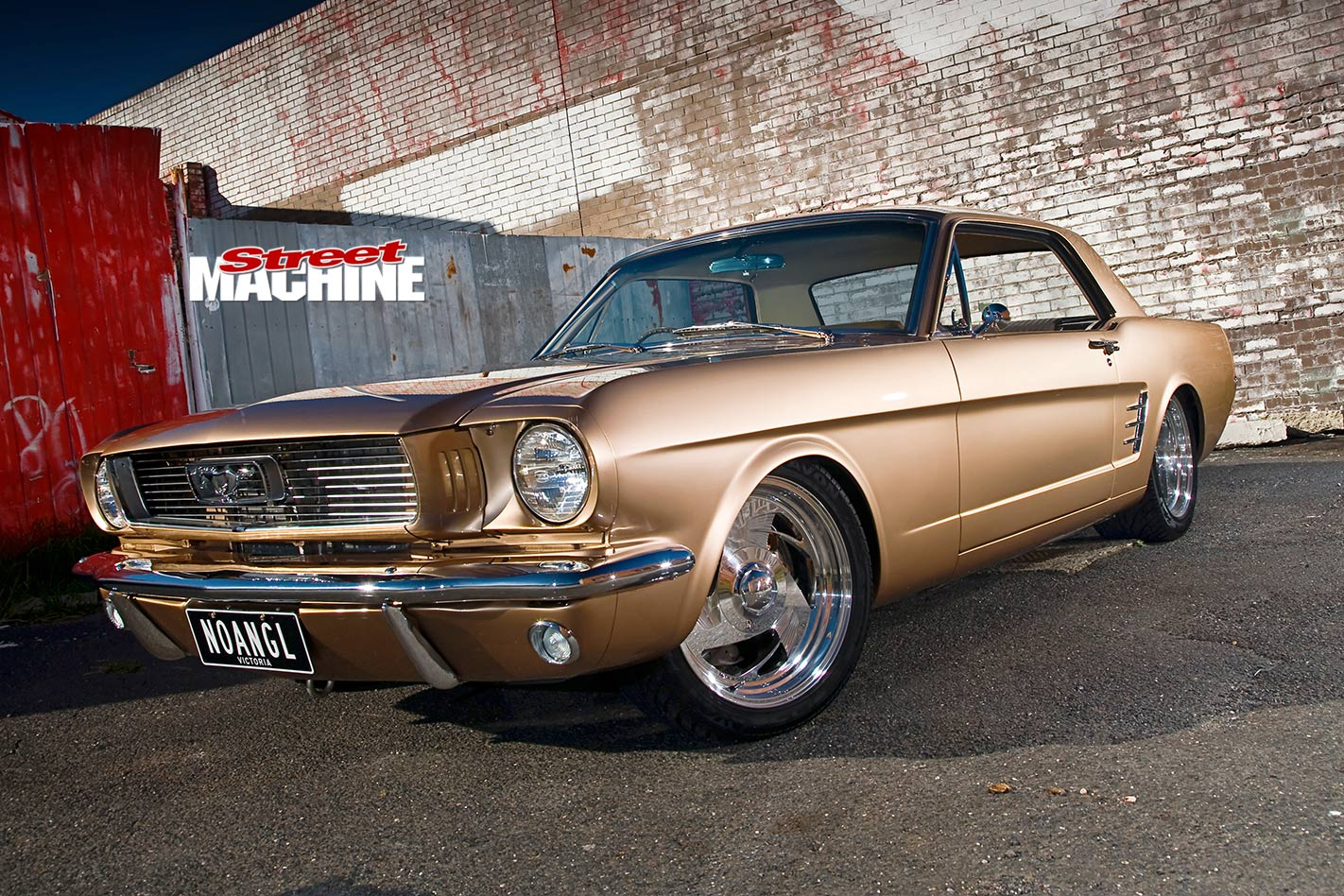 TUBBED 347-CUBE 1966 FORD MUSTANG   Street Machine
