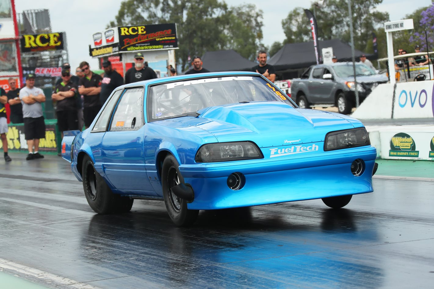 ford fox body drag car