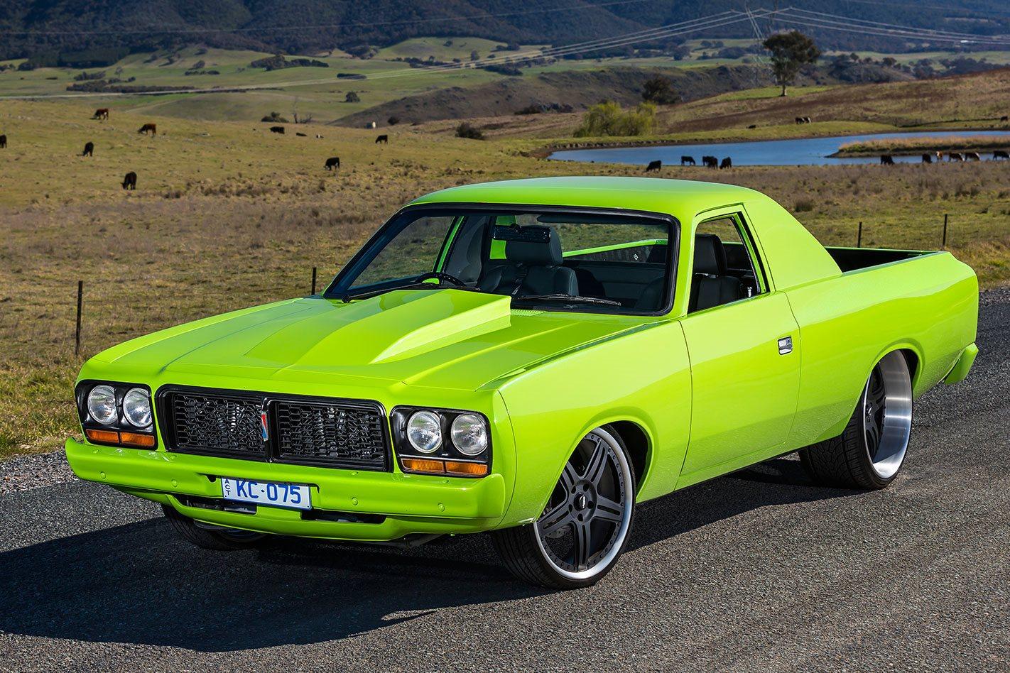 Viper V10 Powered 1977 Chrysler Cl Valiant Ute Street