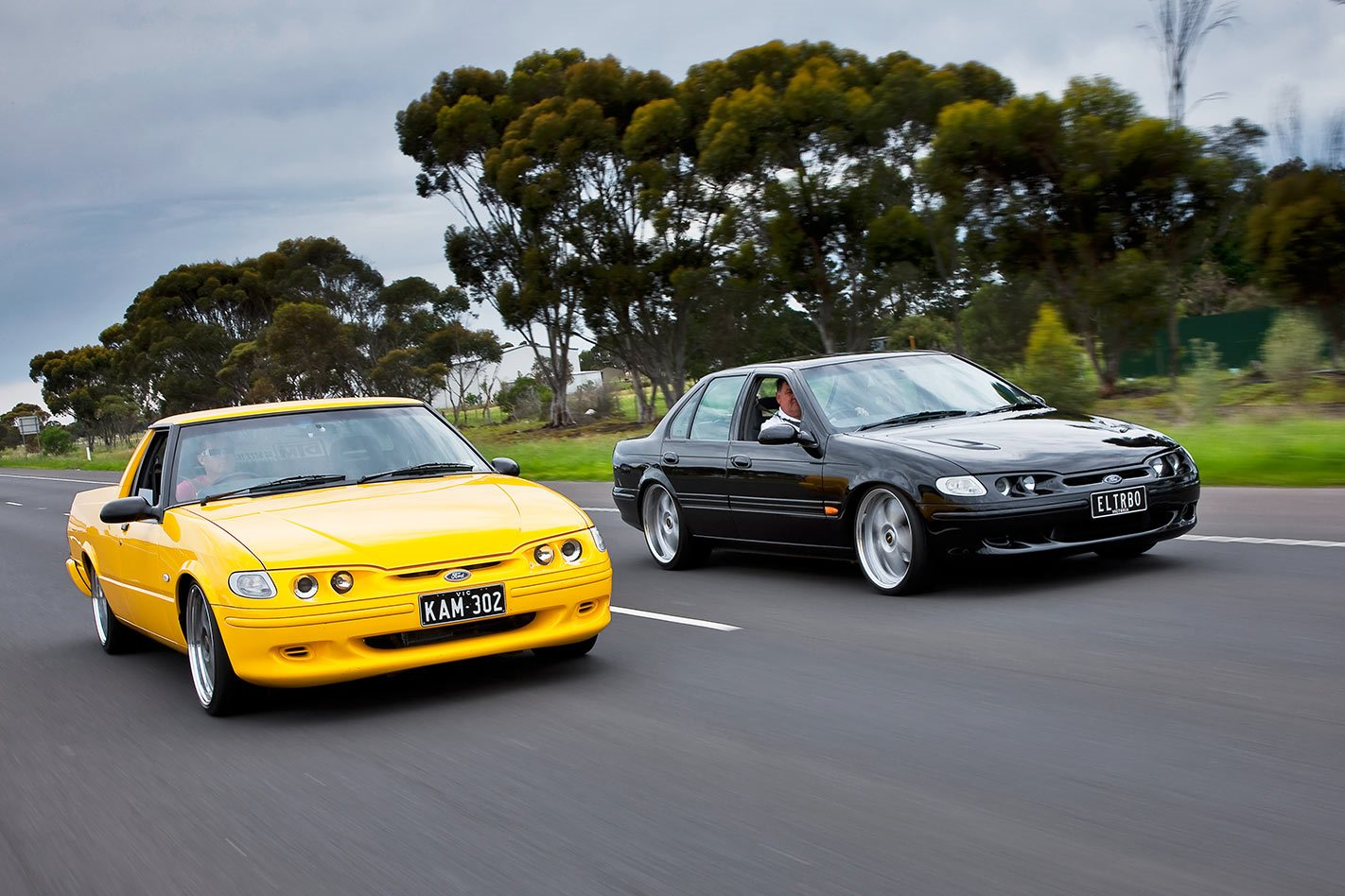 nine second ford falcon xr6 turbo and xr8 falcon ute. Black Bedroom Furniture Sets. Home Design Ideas