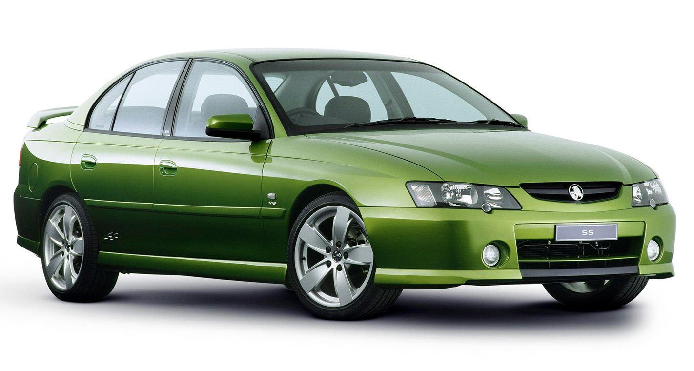 Holden Commodore VY front