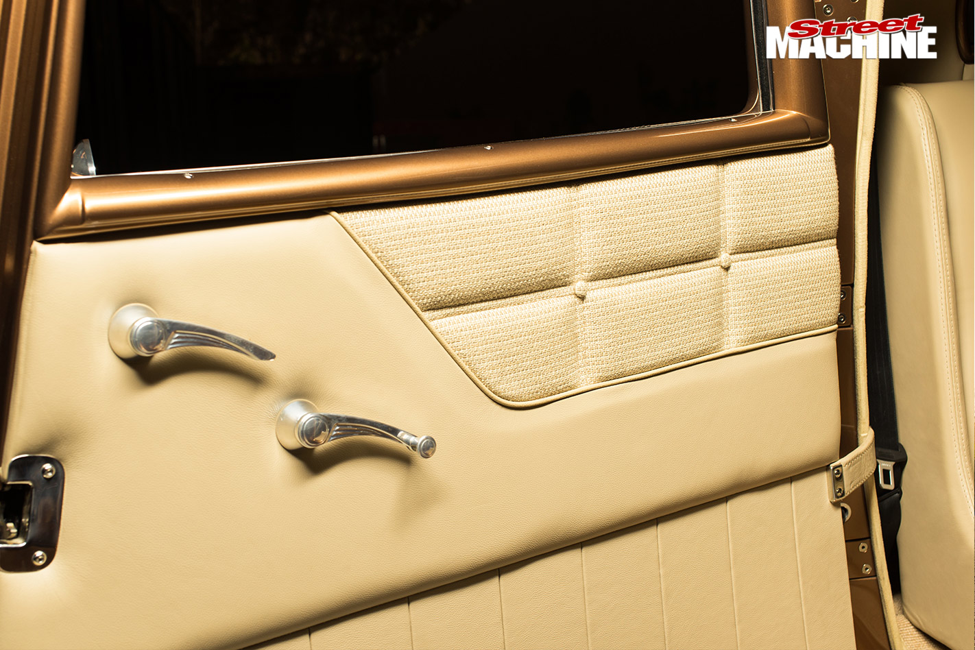 Ford 32 coupe doortrim