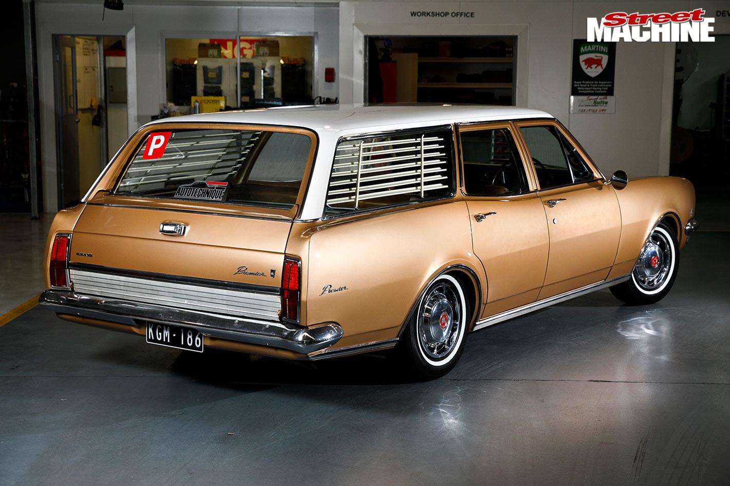 Holden HG wagon rear