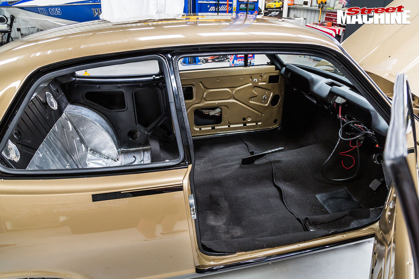 Holden LC GTR interior