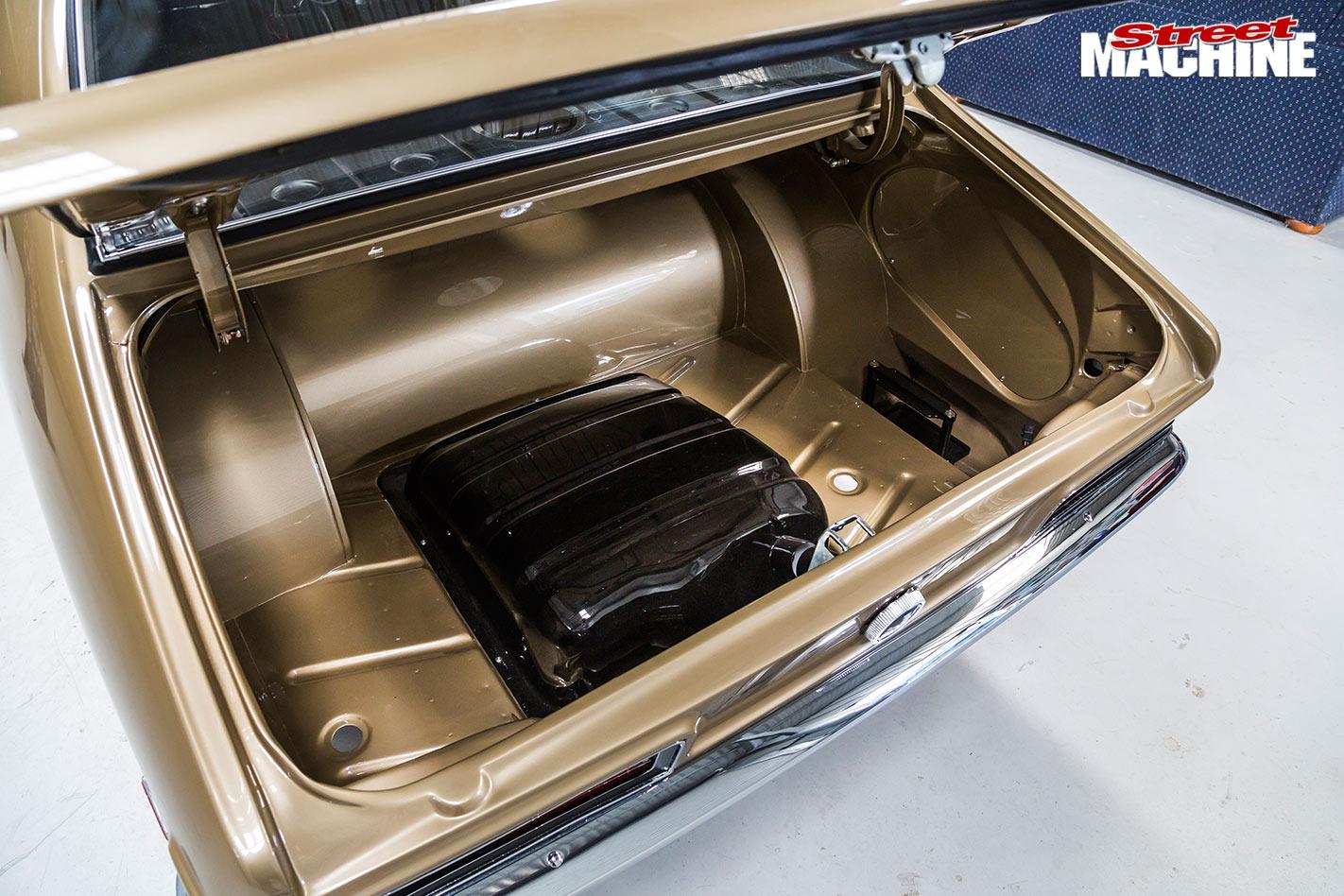 Holden LC GTR boot