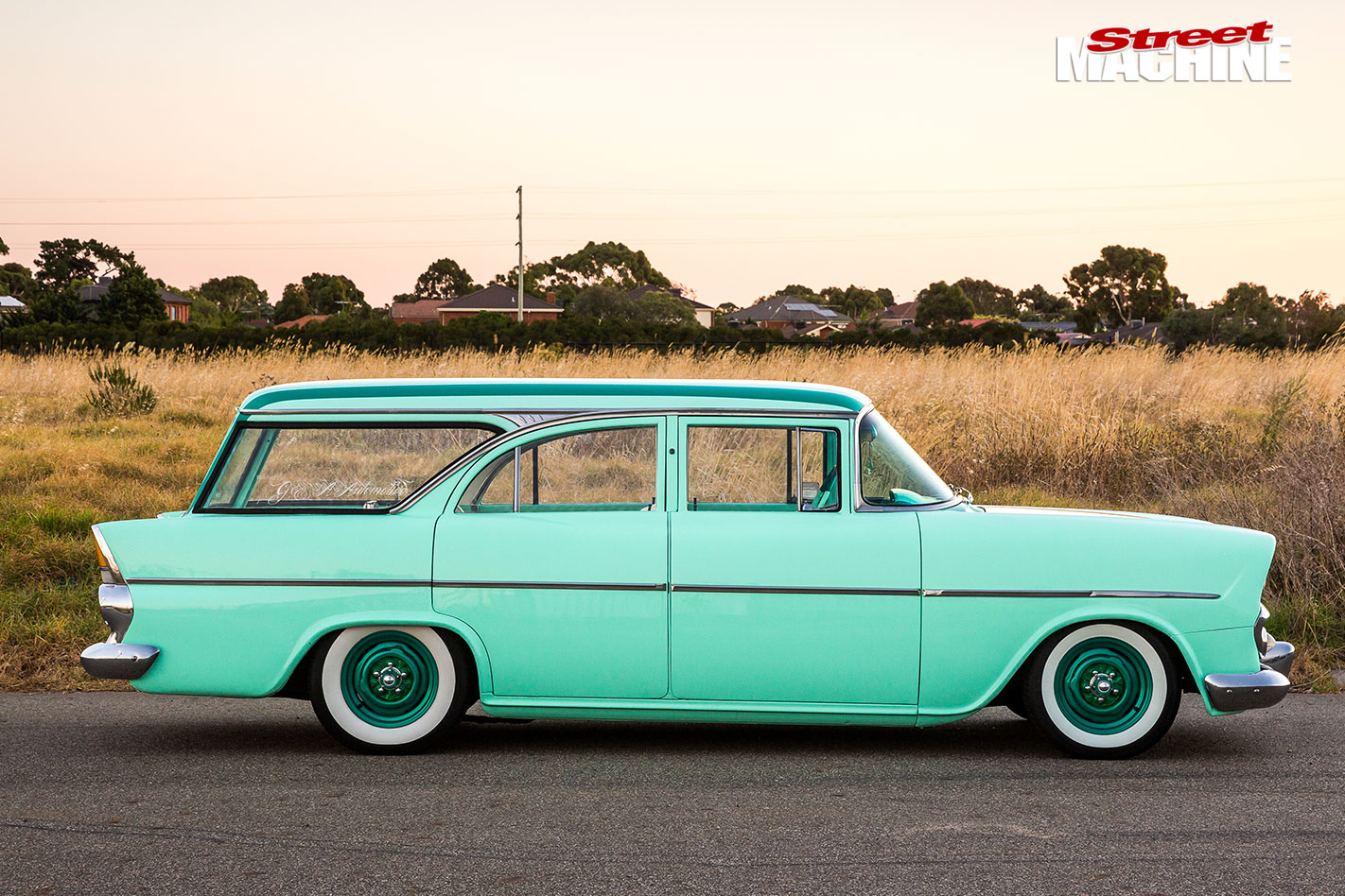 Mild Custom 1962 Holden Ek Special Wagon Street Machine