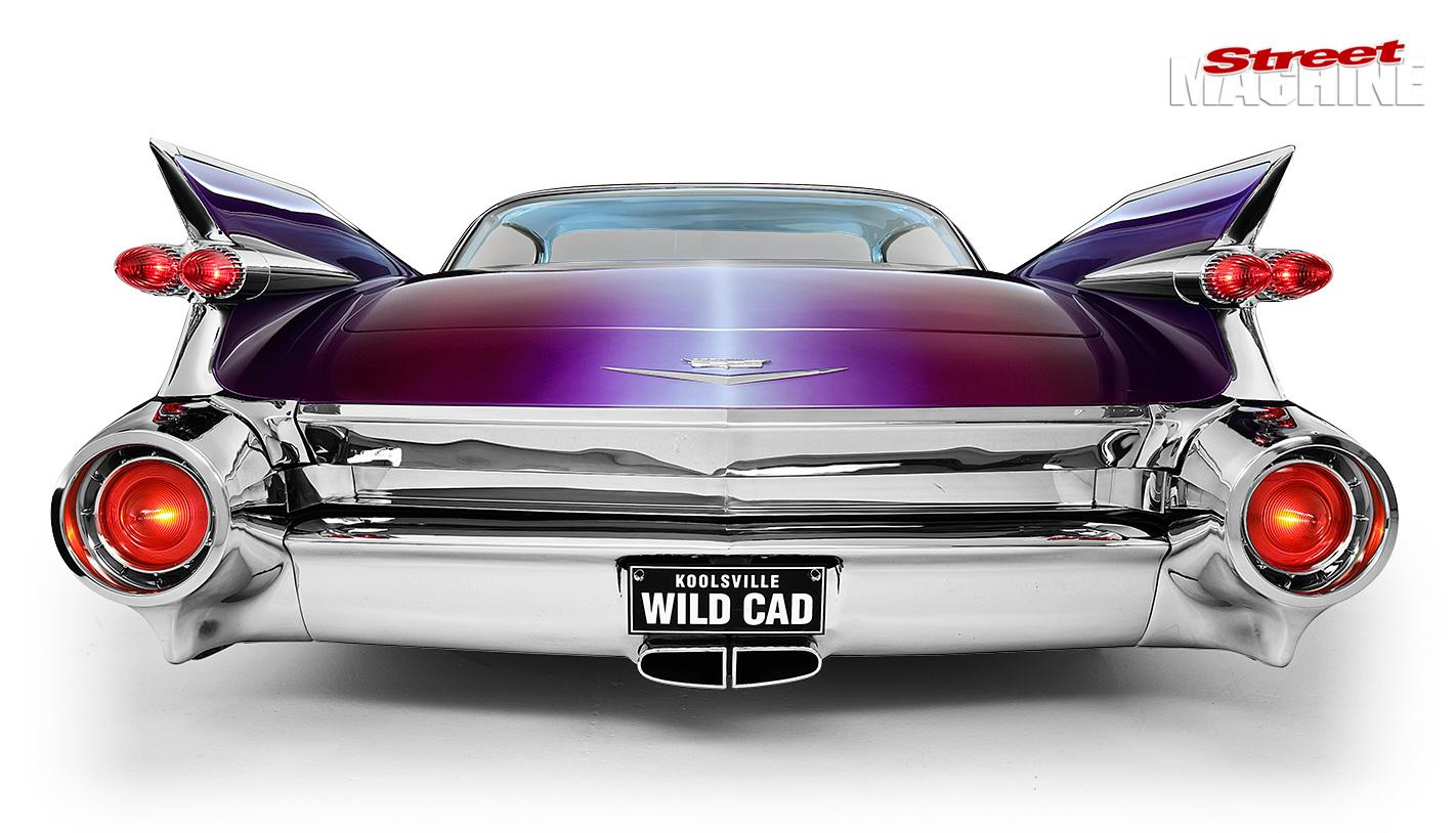 WILD CUSTOM 1959 CADILLAC COUPE DE VILLE - WILD CAD