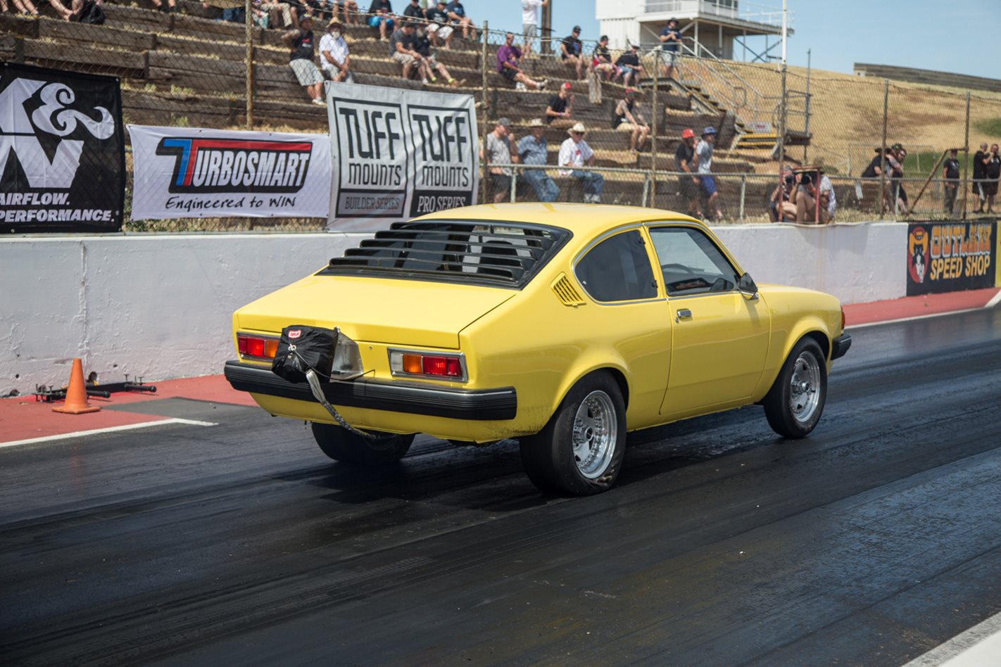 800HP TURBOCHARGED HOLDEN GEMINI AT DRAG CHALLENGE