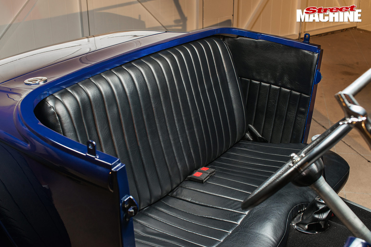 Ford Model A rear seat