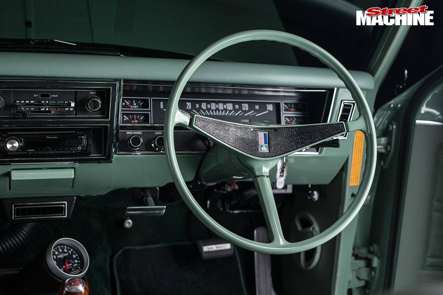 Holden HK wagon dash