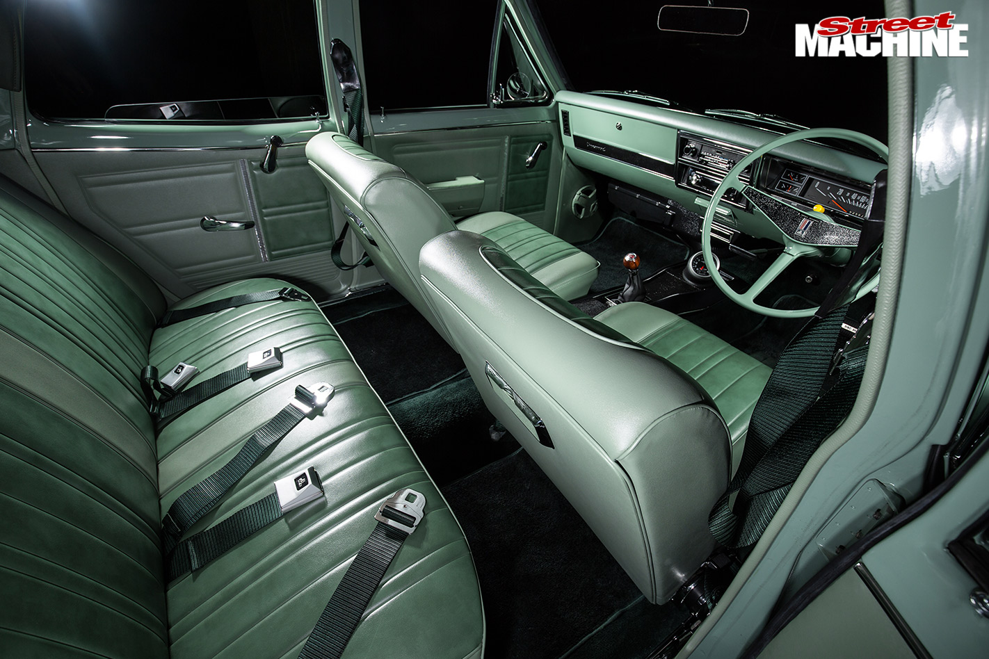 Holden HK wagon interior