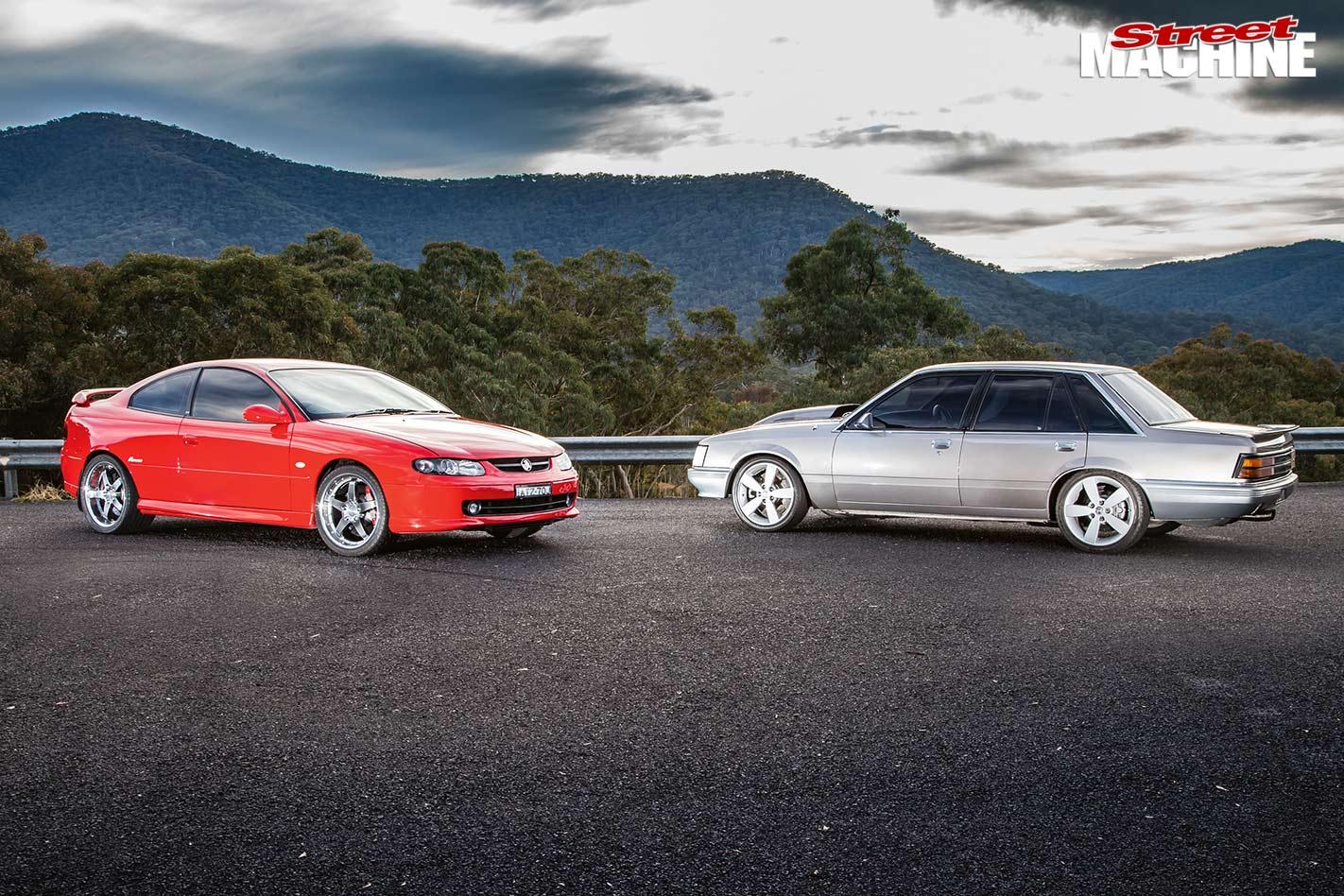 Holden VK and CV8 Monaro