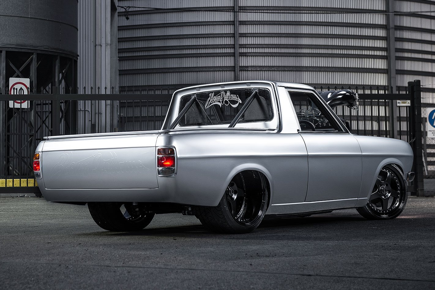 Blown And Injected Ls2 Powered 1973 Datsun 1200 Ute