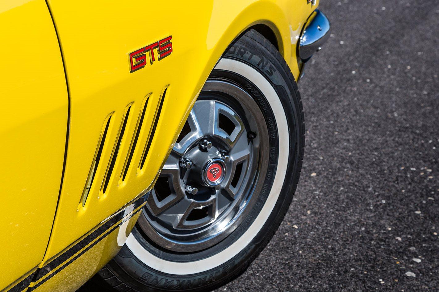 Holden HK Monaro wheel