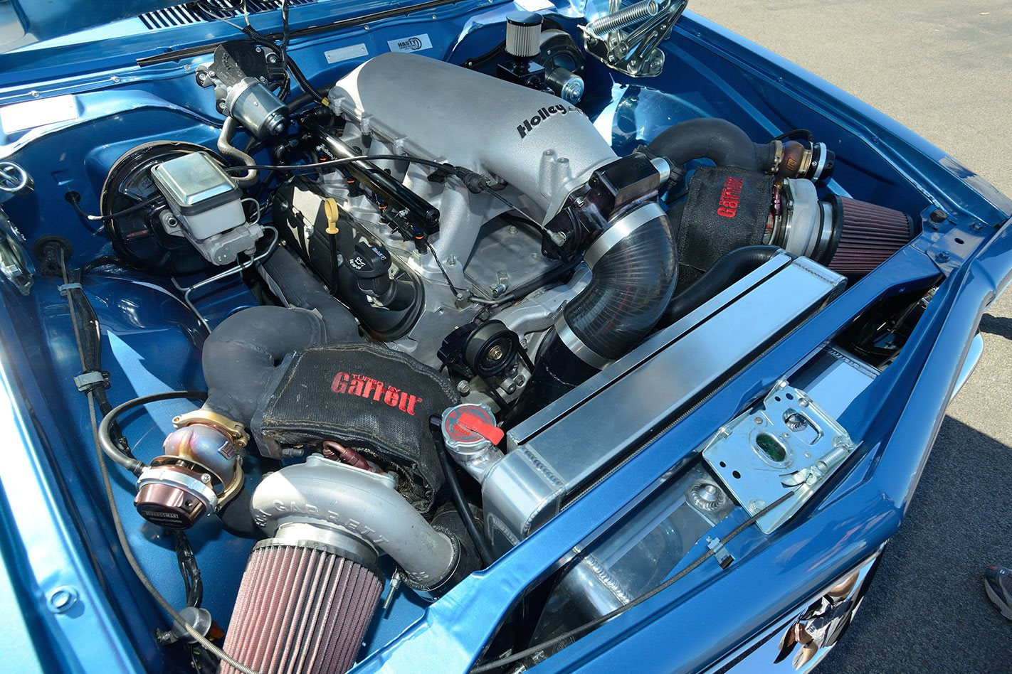 Torana engine bay