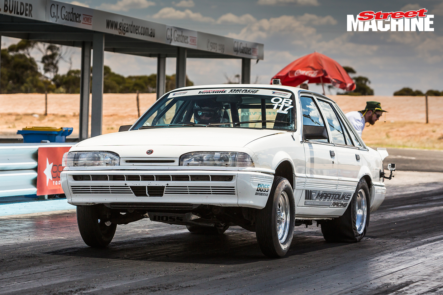 The recipe is by Maatouks, who know a thing or two about these Holden/Nissan  sixes. Management is by Microtech and it spins the rollers to around 800hp.