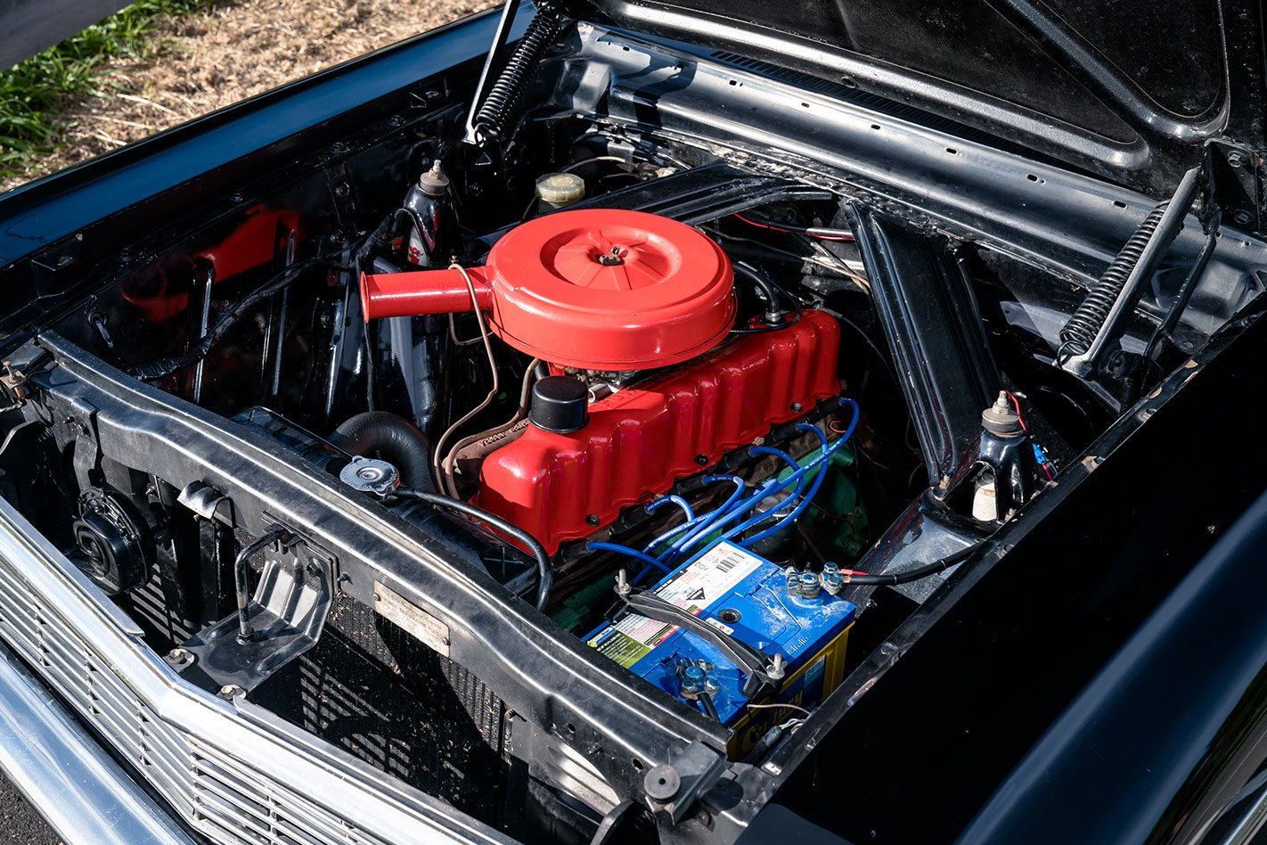 Ford Falcon XP engine bay