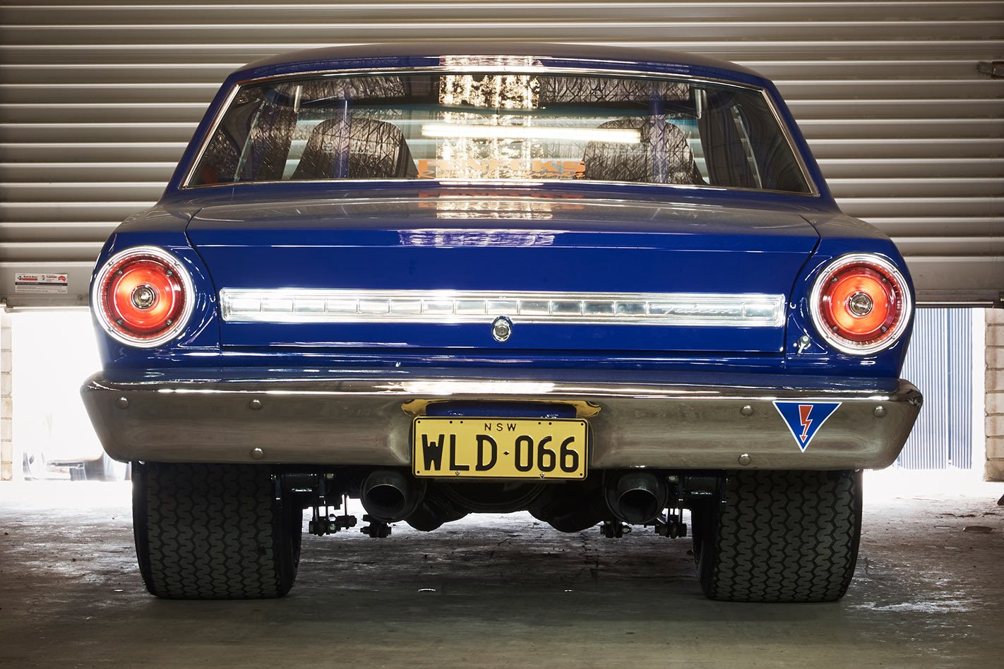 427-CUBE WINDSOR-POWERED 1966 FORD XR FUTURA SPORTS COUPE