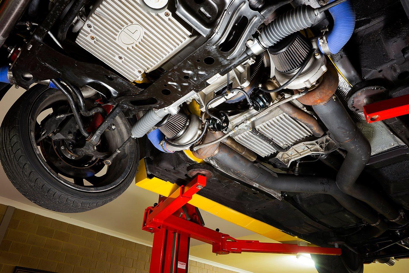 VZ HSV GTO underside