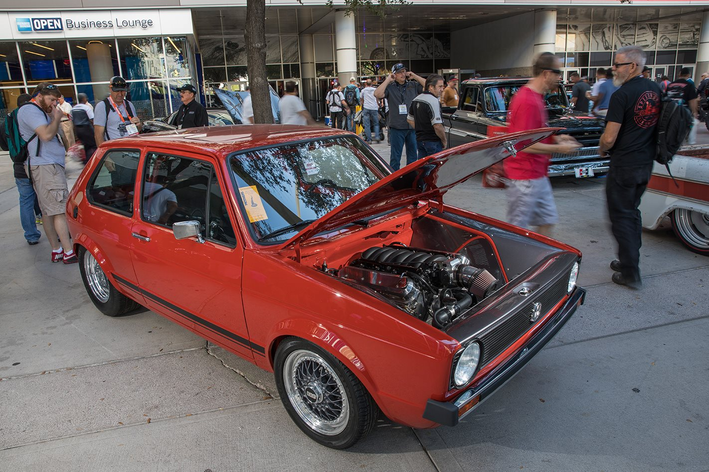 Ls Powered Vw Rabbit At Sema Show 2017 Street Machine