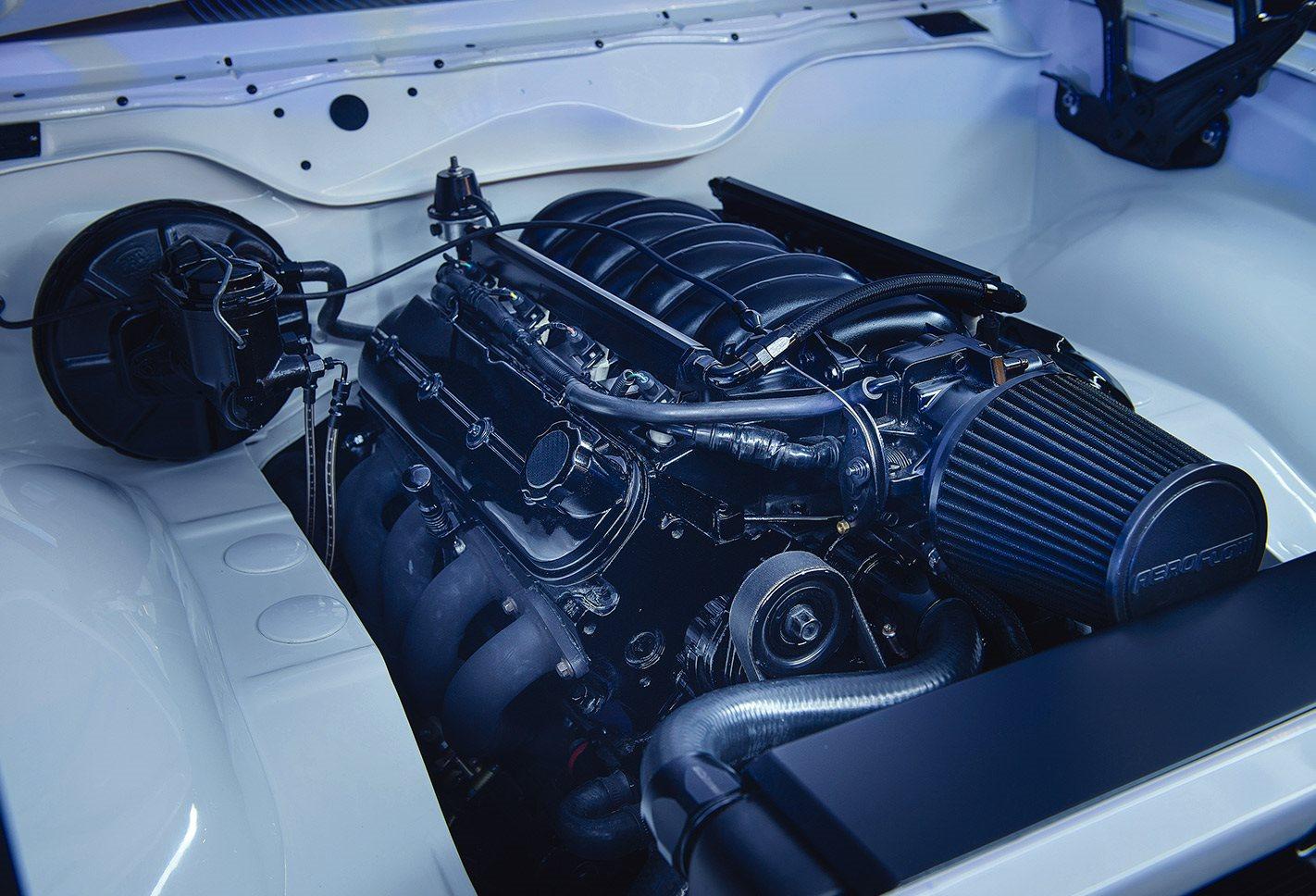 Holden LH Torana engine