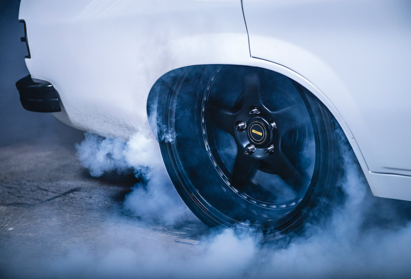 Holden LH Torana burnout