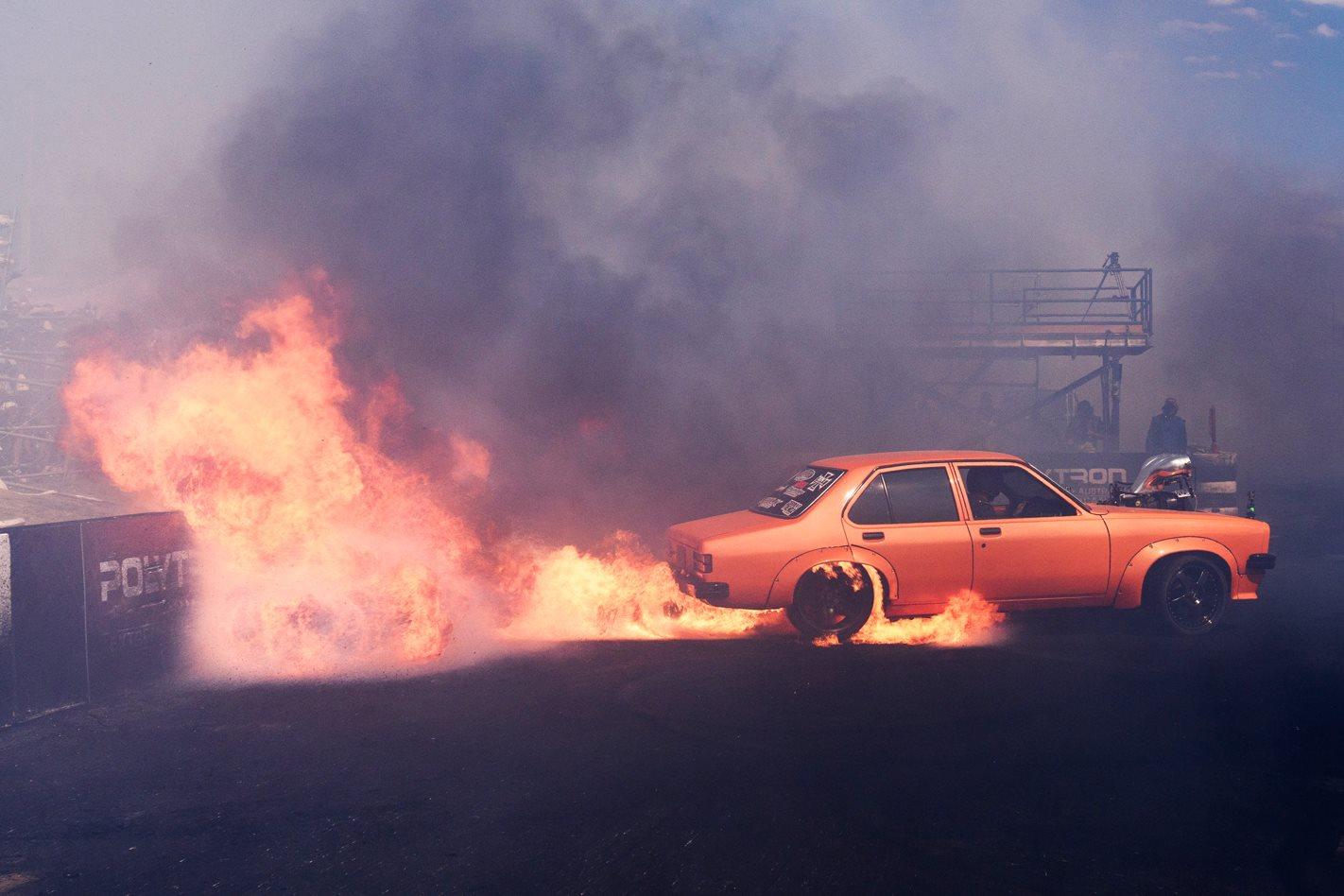 Best Value Auto >> PEPER IT TORANA – MASSIVE BURNOUT FIRE AT SUMMERNATS 31