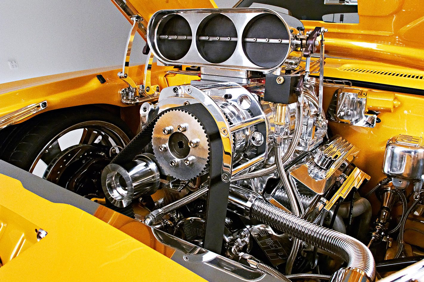 Chevrolet Camaro engine