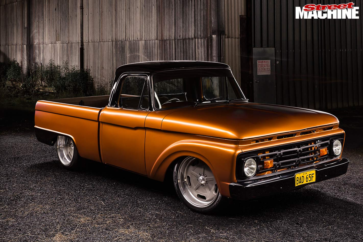 CHEVROLET SMALL BLOCK-POWERED 1965 FORD F100 TRUCK - BAD 65F