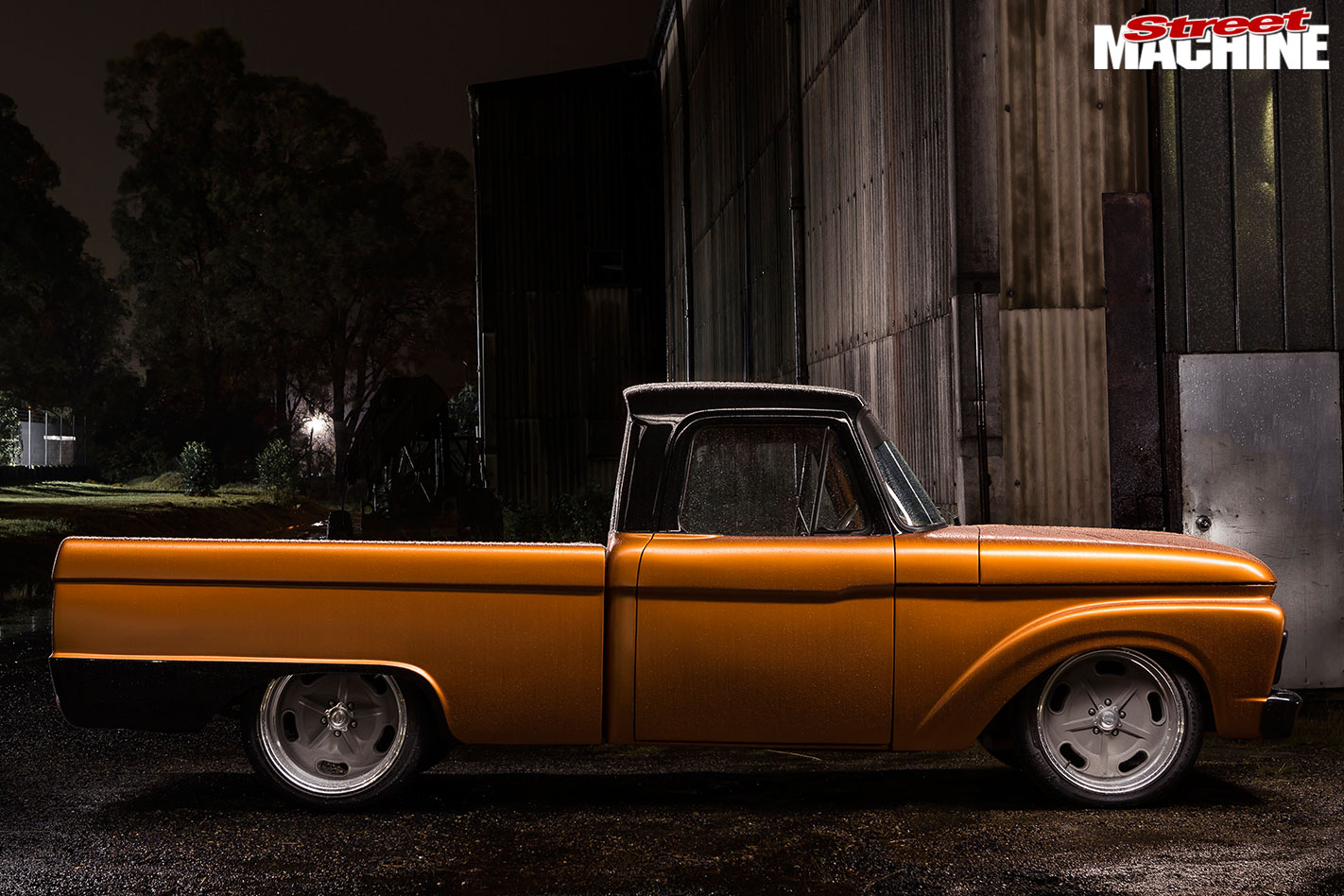 Ford F100 side