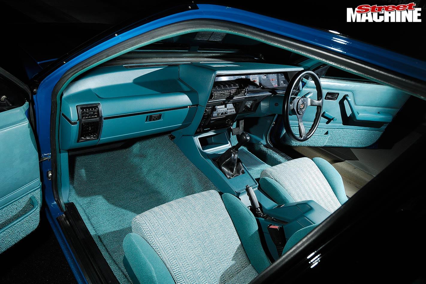 Holden VK Commodore Group C replica interior