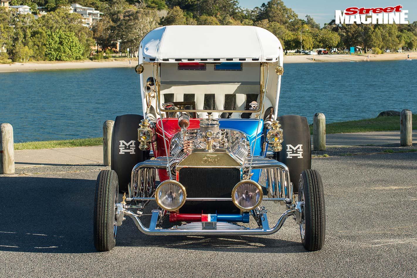 Custom 1922 Ford T Bucket Splitt Decision