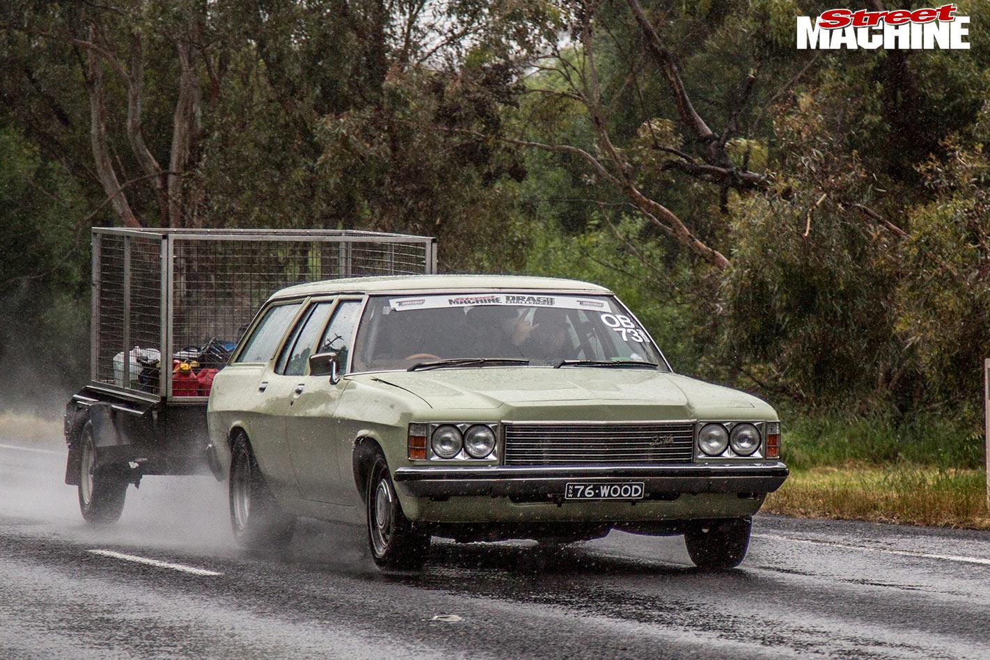 Holden HX wagon sleeper