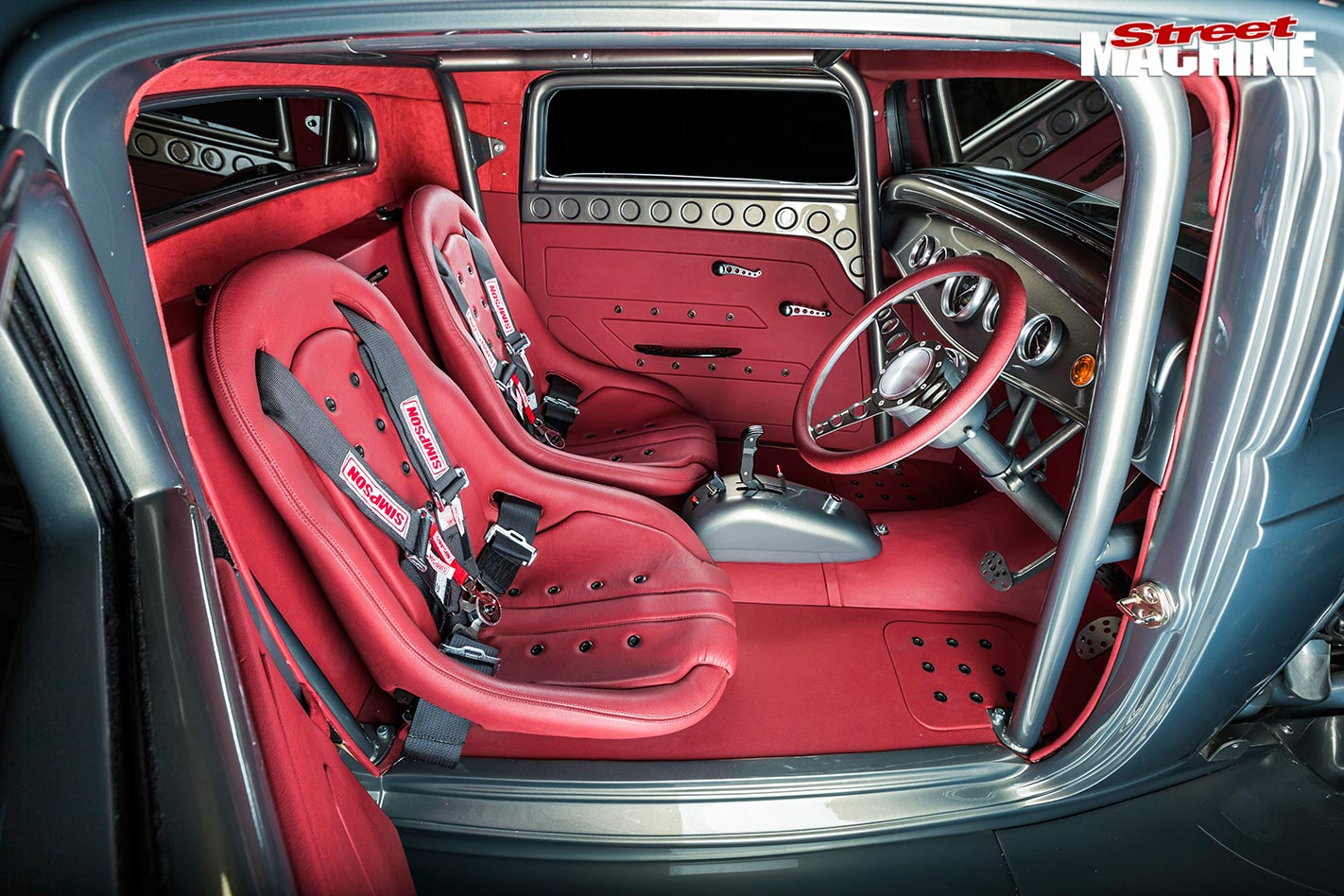 Blown Hemi Powered 1932 Ford Three Window Coupe