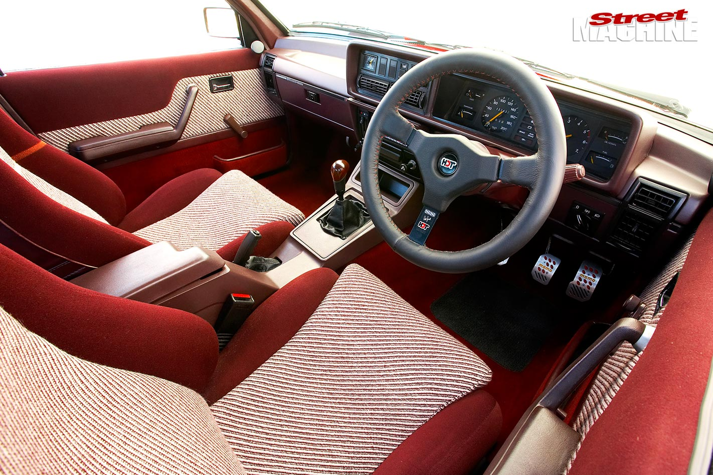 Holden VH Commodore SS Group 3 interior