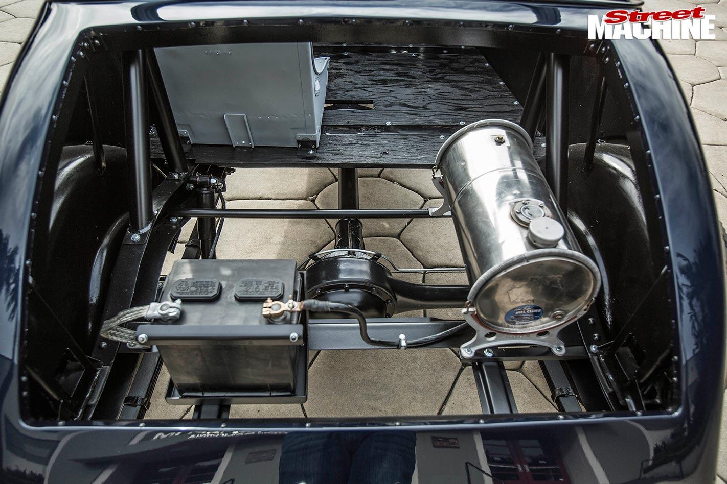 chevrolet roadster rear