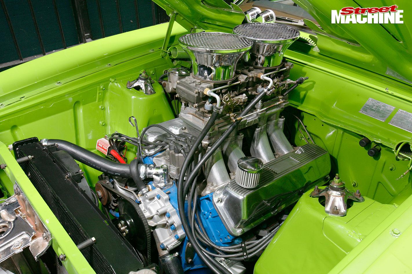 Ford XA wagon engine bay