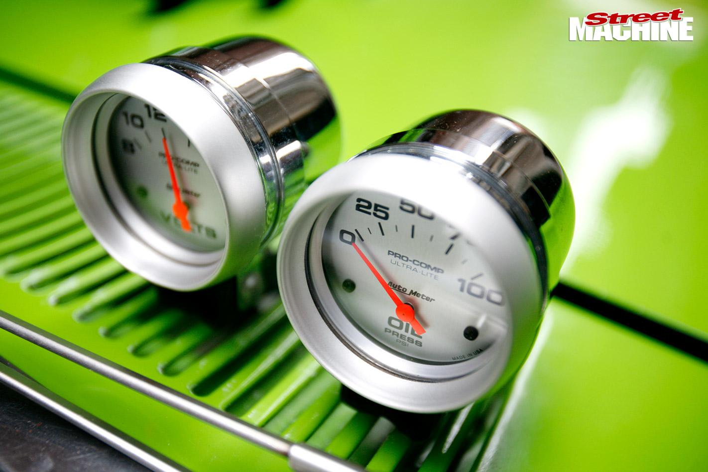 Ford XA wagon gauges