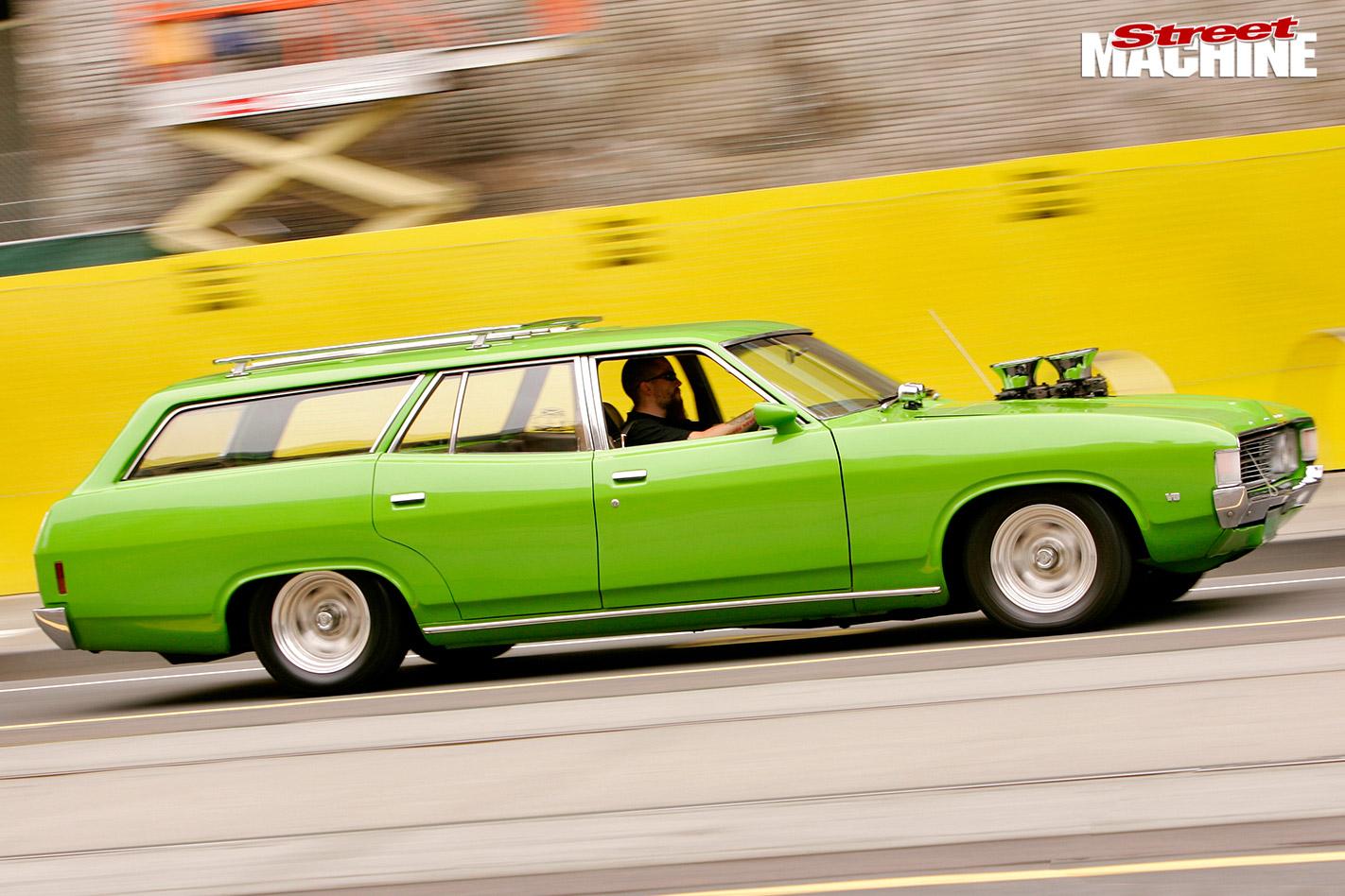 Ford XA wagon side