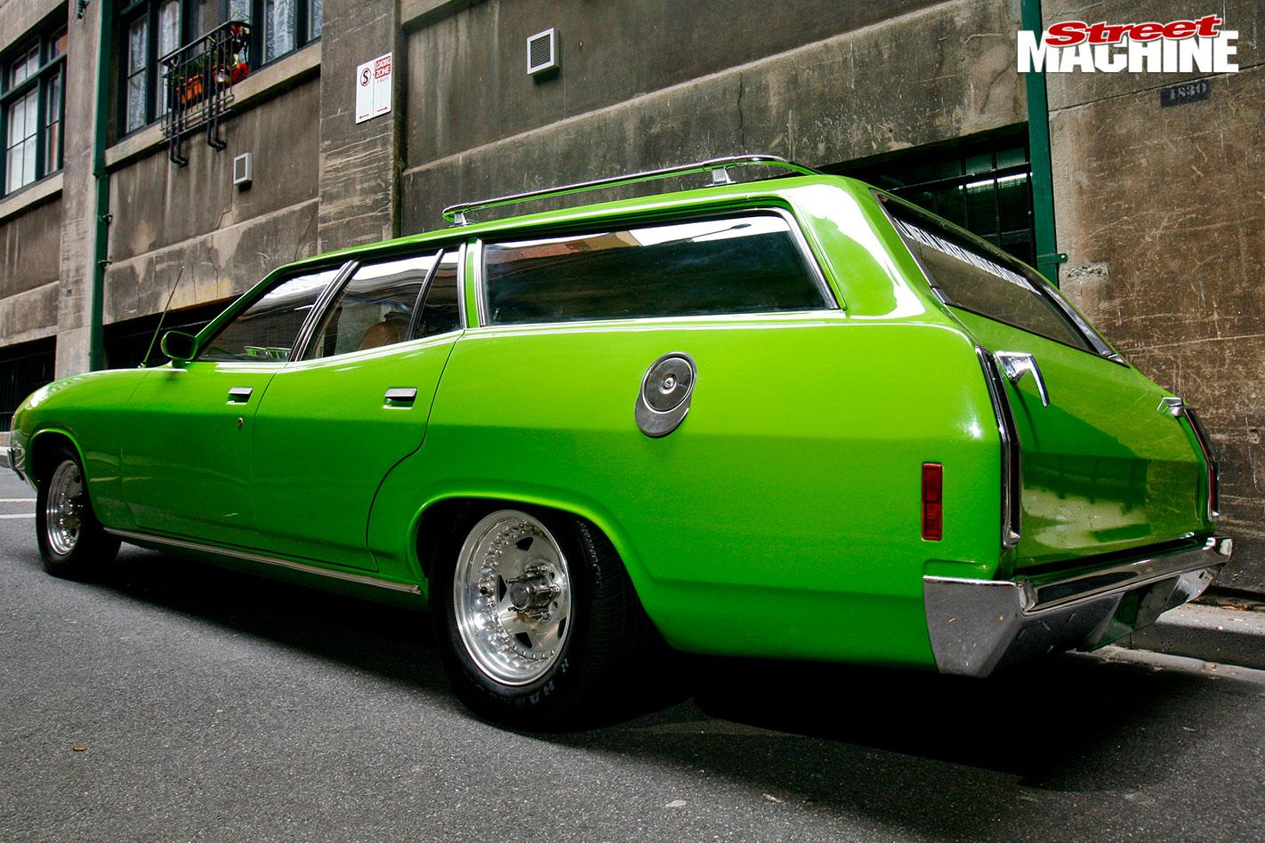 Ford XA wagon rear