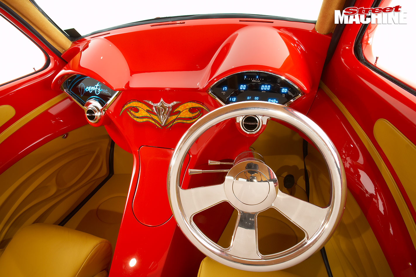 1942 Willys interior front