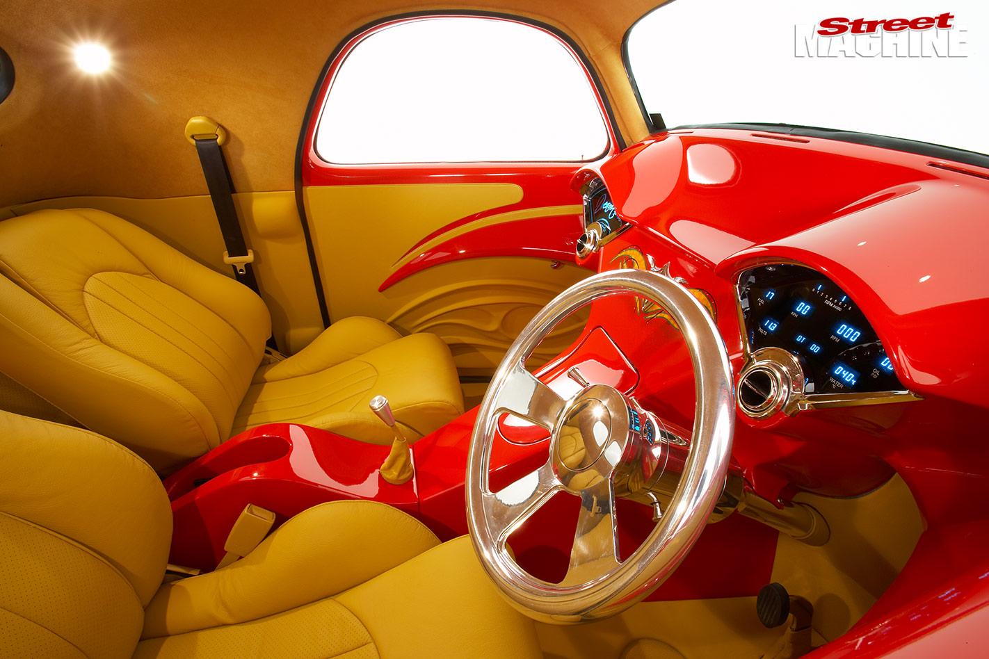 1942 Willys interior