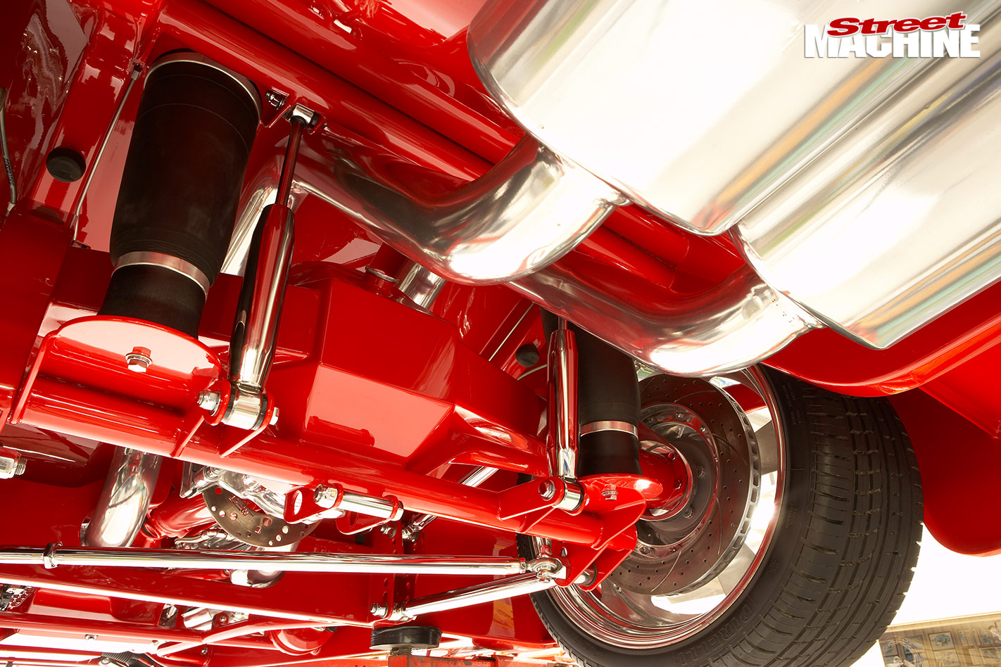 1942 Willys exhaust